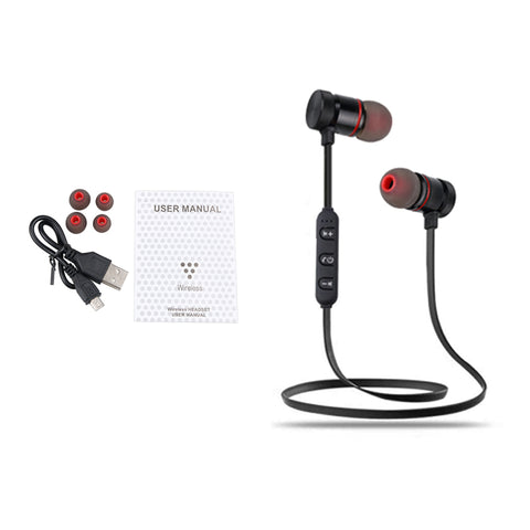 Wireless Stereo Headset (Magnetic)