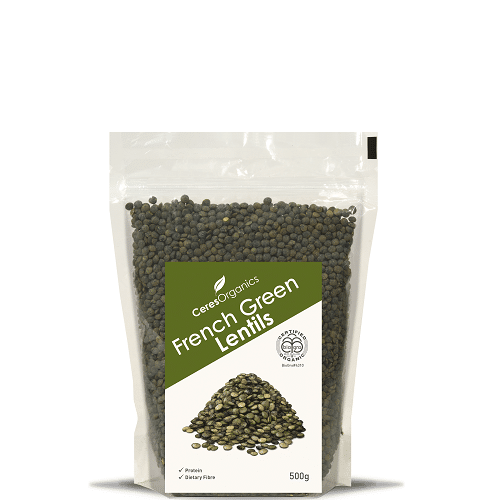 Ceres Organics French Green Lentils 500g