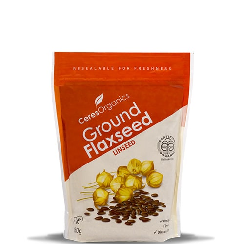 Ceres Organics Ground Flaxseed Linseed