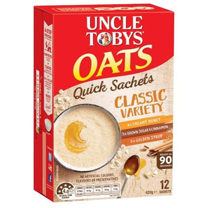 Uncle Toby Quick Sachet