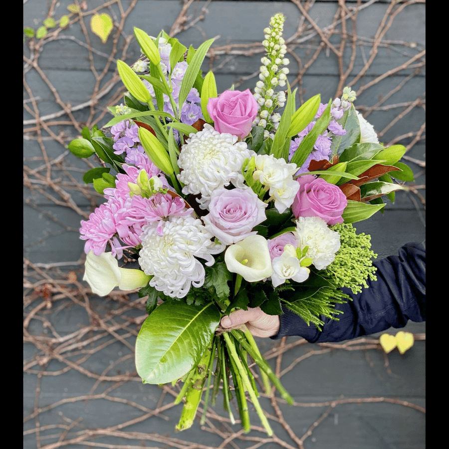 Flowers In A Box - Pastel Florist Choice