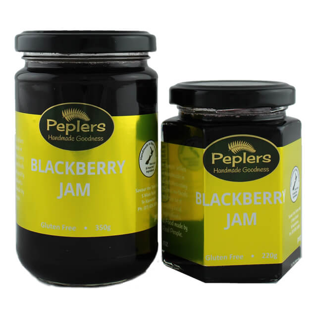 Peplers Blackberry Jam 220g