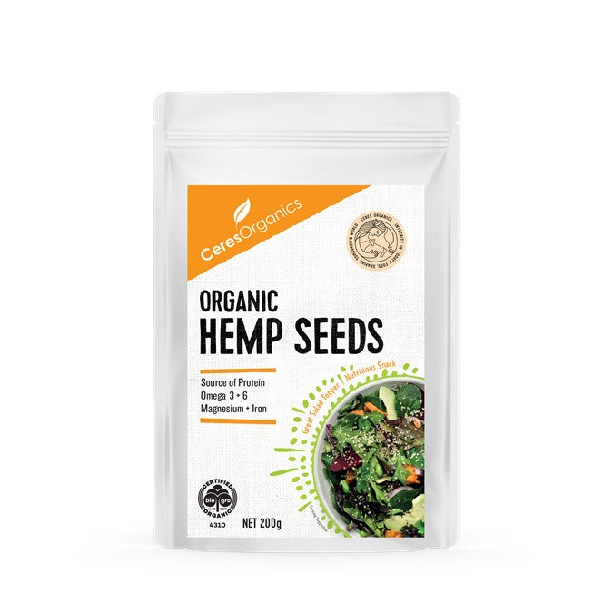 Ceres Organics Hemp Seeds delivery nz wide