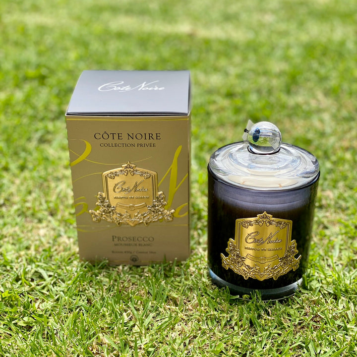Cote Noire 450g Candle. Prosecco. Delivery NZ Wide