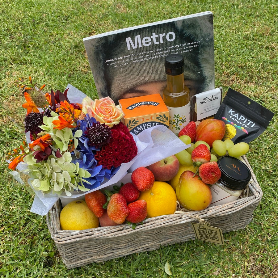 Show that you care with a Fruit Basket delivered in their time in need.