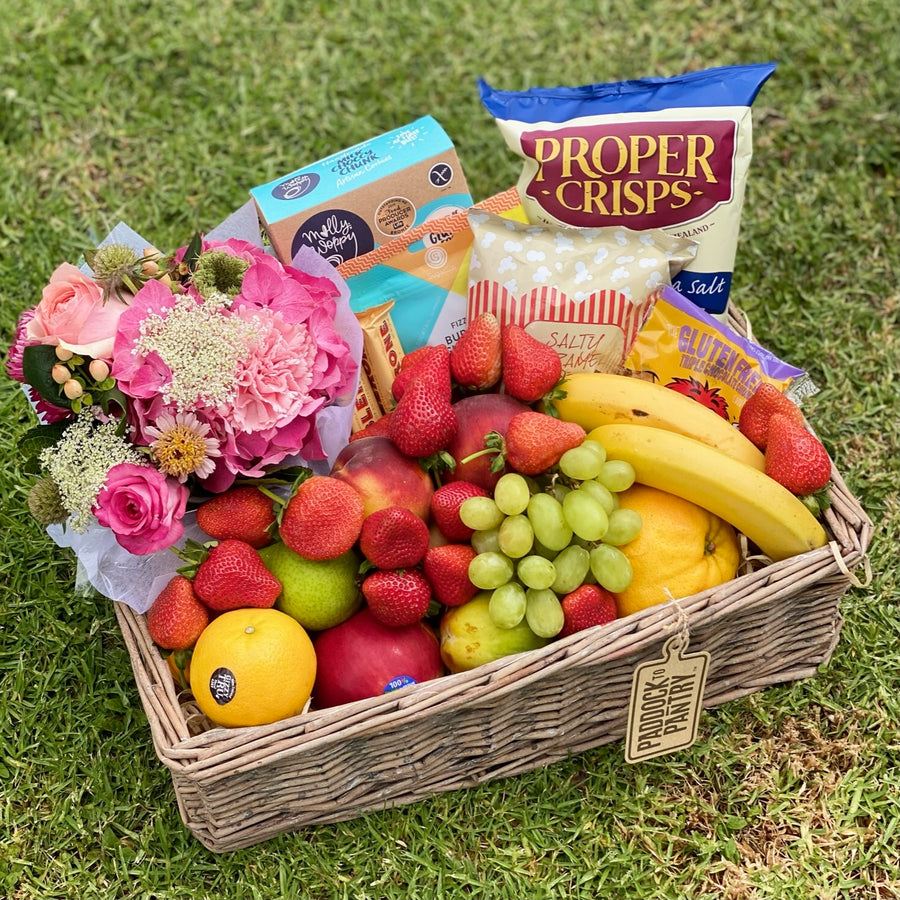 A Delightful Day Fruit Basket - Gluten Free