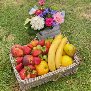 Fresh fruit & flowers delivery Auckland same day
