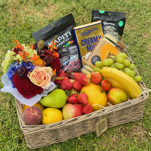 Get fresh Fruit, Flowers & Chocolate delivered to your door in Auckland
