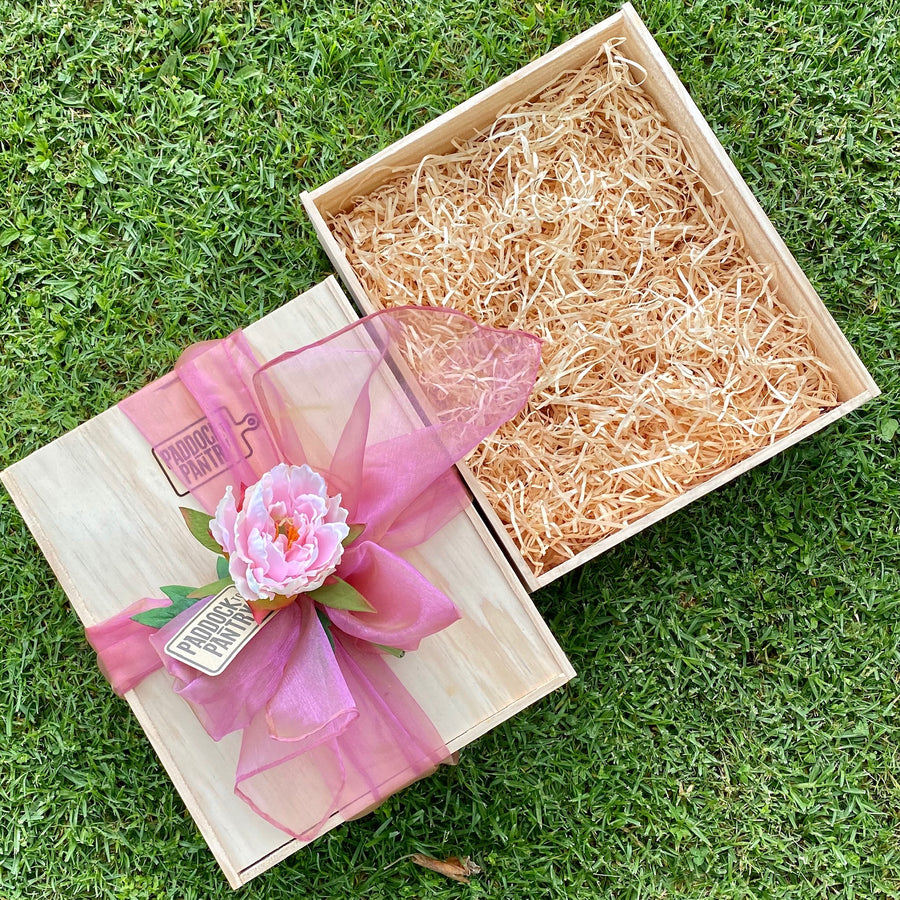 Create Your Own Wooden Gift Box - Large