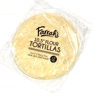 "Farrah's 10.5"" Flour Tortillas 12 Pack"