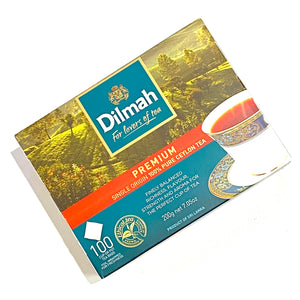 Dilmah Premium Single Origin 100% Pure Ceylon Tea 100 Bags