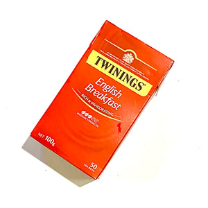 Twining's English Breakfast 50 Bags 100gm