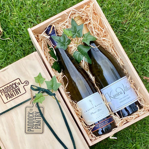 A Pair Of Pinot Gris Wine Hamper