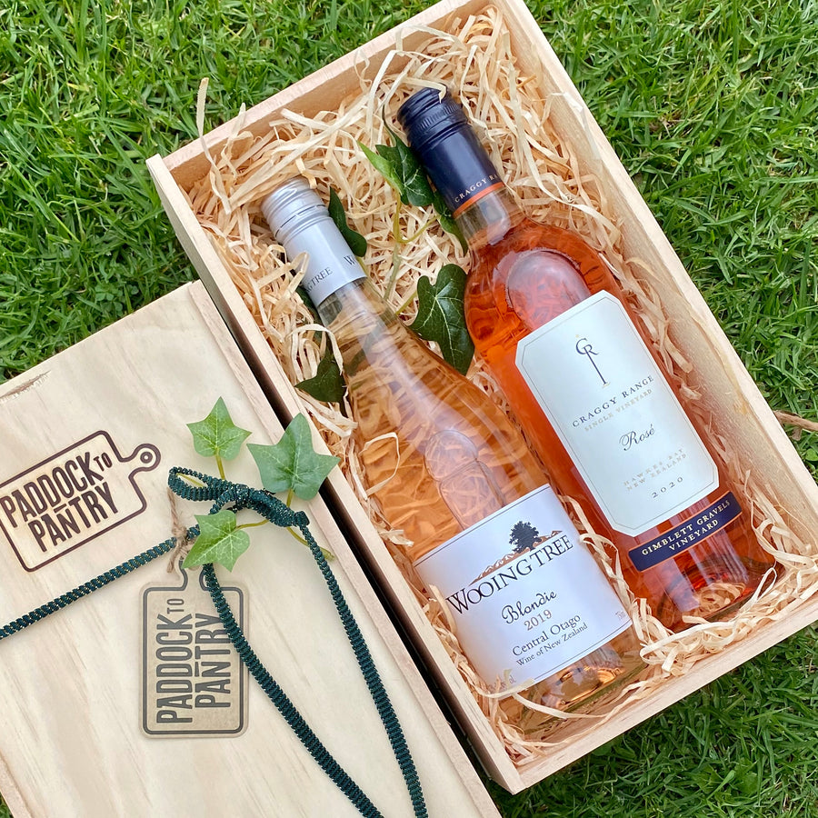 A Summers Delight Rosé Wine Hamper