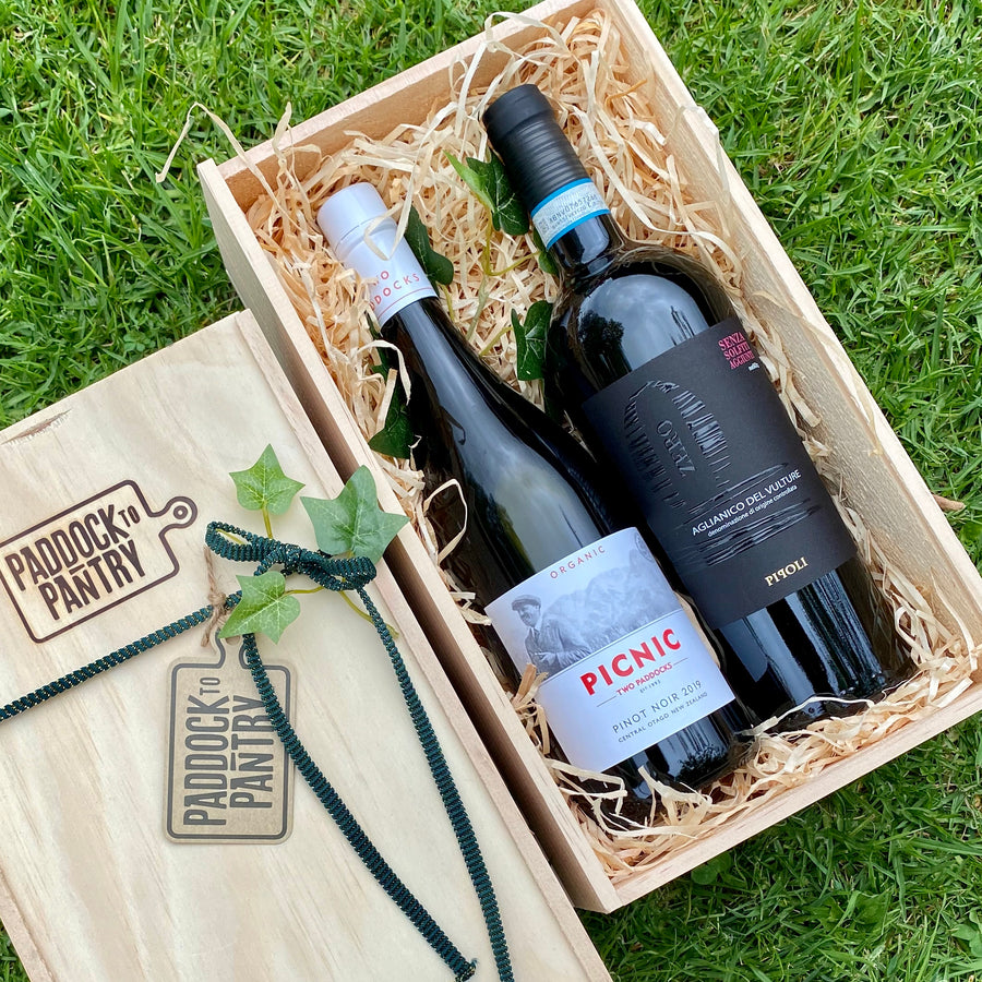 Organic & Sulphite Free Red Wine Hamper