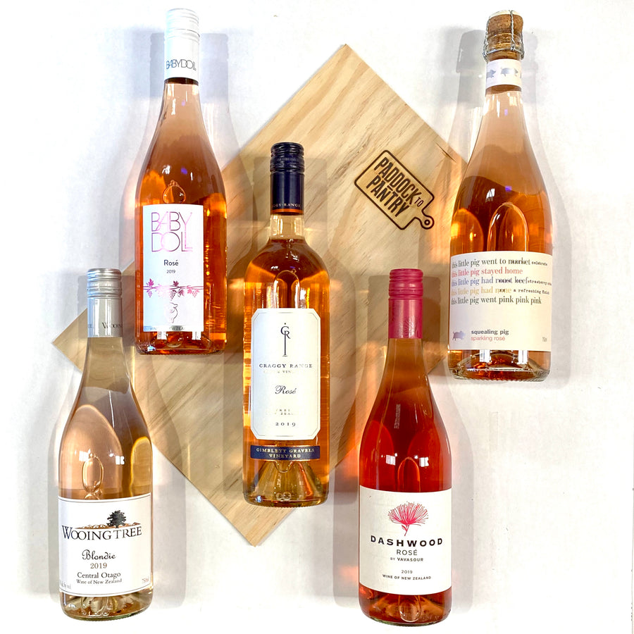 Rose Wine Box