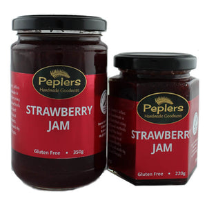 Peplers Strawberry Jam 220g