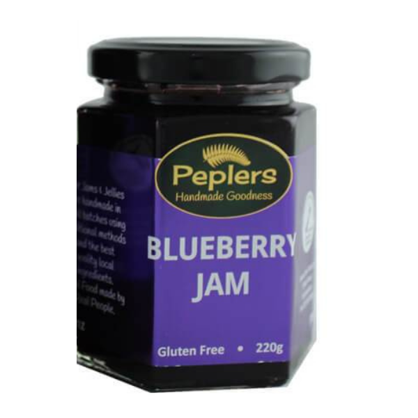 Peplers Blurberry Jam. Groceries Online NZ
