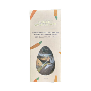 House of Chocolate - Valrona Hazelnut Baby Eggs