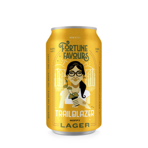 Fortune Favours The Trailblazer Lager 6 Pack