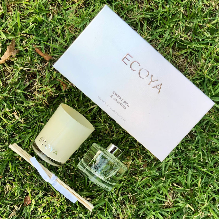 Ecoya sweet pea and jasmine gift set delivery nz