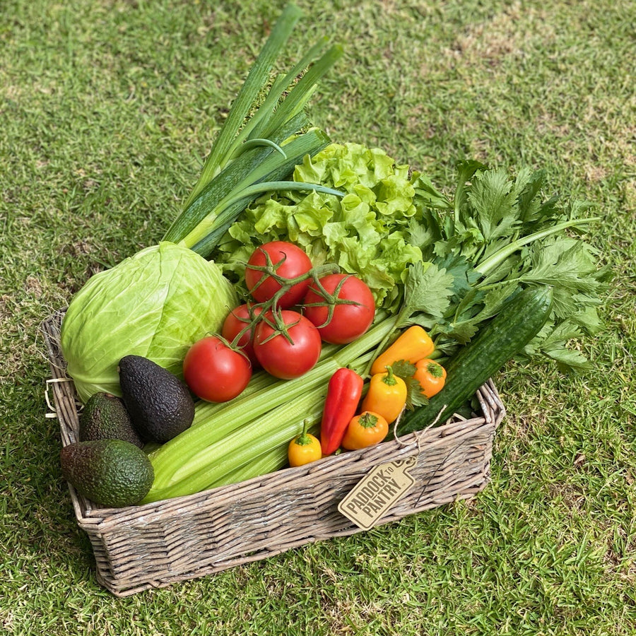 Green Goodness Vegetable Basket