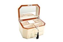 Harrowdene Stingray Timber Piano Finish Jewellery Box with Drawer, Length 27cm