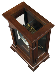 630-266_HowardMiller_Emporia_Mechanical_Mantel_Clock_WestminsterChime-TopView