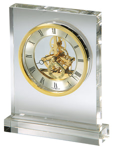 Prestige Optical Crystal Quartz Clock   H 21cm