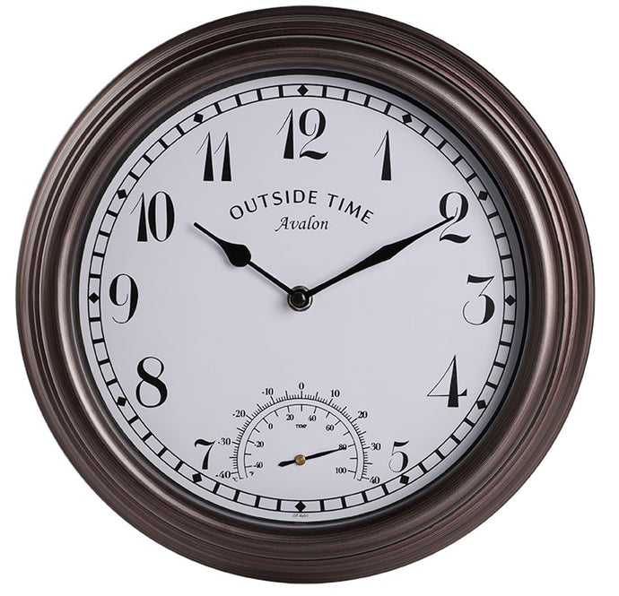 Avalon Outdoor Clock 30cm