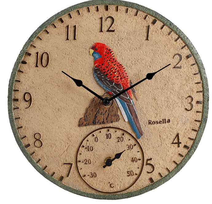 Rosella Outdoor Clock 30cm