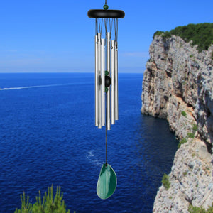 Woodstock Windchime Agate Green - Lifestyle View