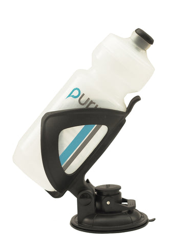 Suction SUP Water Bottle Holder - Black - SUP_Paddleboard_Deck_Accessories_J_Hook_Suction_cup_accessories - VAMO - www.vamolife.com