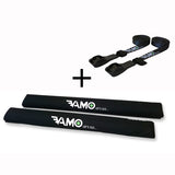Aero Rack Pad & Tie Down Strap Combo Set - Travel_Rack_Pads_Roof Pads_ Nylon_Tie_Downs - VAMO - www.vamolife.com