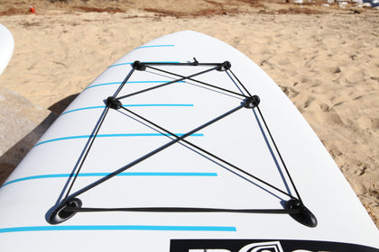 Universal Deck Rigging Kit - 6 anchor kit - SUP_Paddleboard_Deck_Accessories_J_Hook_Suction_cup_accessories - VAMO - www.vamolife.com