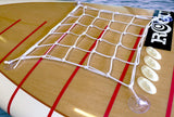 Universal Deck Netting Kit - WHITE - SUP_Paddleboard_Deck_Accessories_J_Hook_Suction_cup_accessories - VAMO - www.vamolife.com