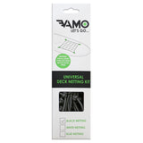 Universal Deck Netting Kit - BLACK - SUP_Paddleboard_Deck_Accessories_J_Hook_Suction_cup_accessories - VAMO - www.vamolife.com