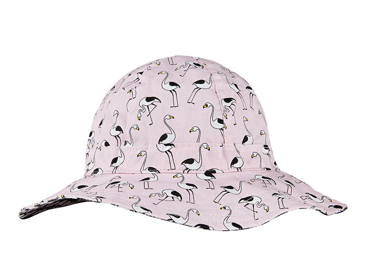 Flamingo pink hat