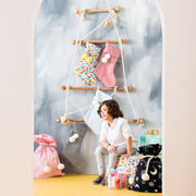 [PRE-ORDER] Cotton Candy Swag Sack + Christmas Stocking Set