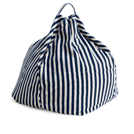 French Navy Bean Bag Cover