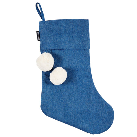 Denim Christmas Stockings
