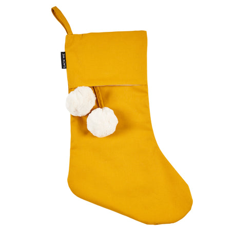 Mustard Christmas Stockings