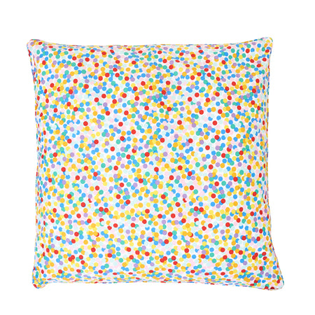 Confetti Floor Cushion Cover with Insert
