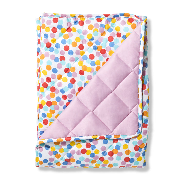 Confetti Quilted Coverlet King Single size (suitable for single or king single bed)