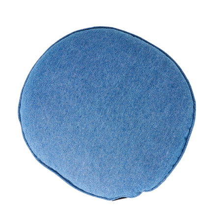 Round Denim Cushion