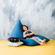 Denim Bean Bag Cover