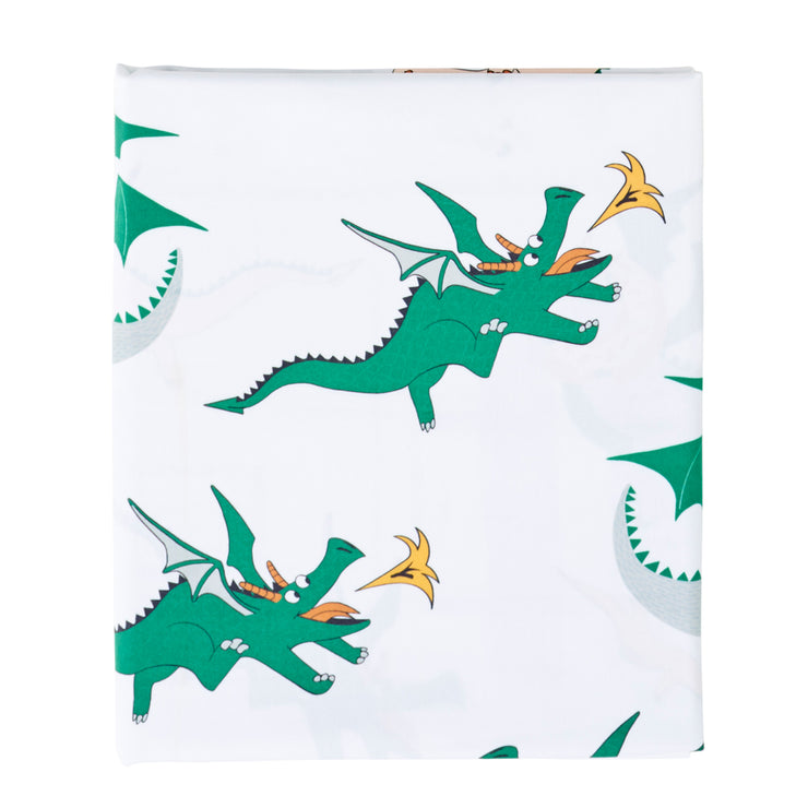 Dunkin Dragon Fitted Sheet