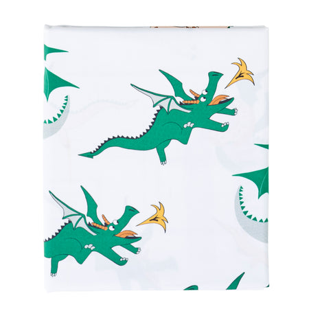 Dunkin' Dragon Flat Sheet