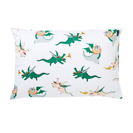 Dunkin' Dragon Pillowcase