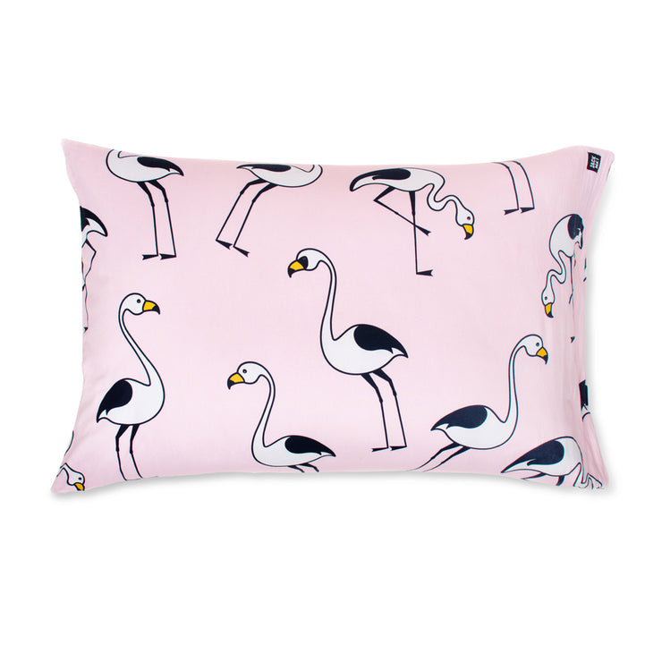 Flamingo Pink Pillowcase